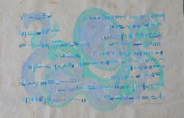 , 'Water Notes,' 2012, InLiquid
