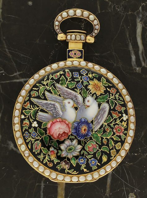 , 'Duplex pocket watch made for the Chinese market,' ca. 1820, Somlo London