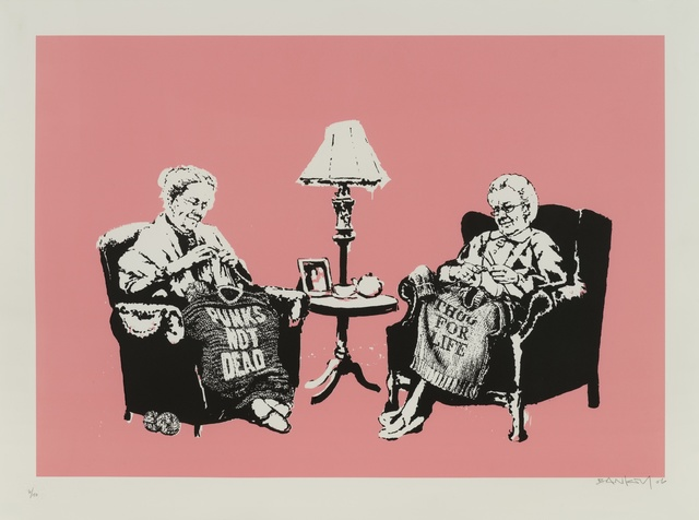Banksy, 'Grannies', 2007, Forum Auctions