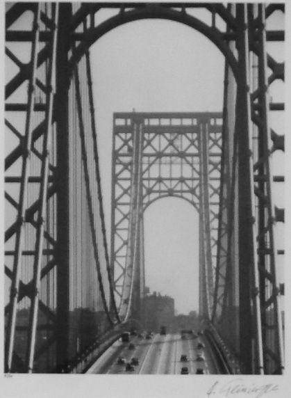 Andreas Feininger, 'George Washington Bridge', GALLERY M