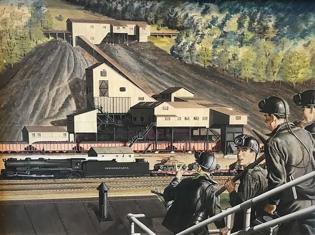 Geoffrey Biggs, 'The Lumber Mill 1943', 1943, The Illustrated Gallery