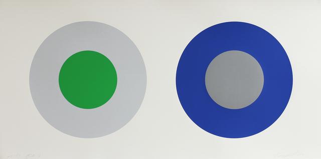 Claude Tousignant, '#2-73 H3CB', 1973, Art Mûr