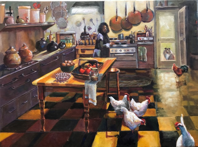, 'Country Kitchen,' 2017, Dog & Horse Fine Art