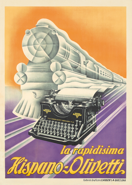 , 'Hispano-Olivetti.,' ca. 1930, Rennert's Gallery