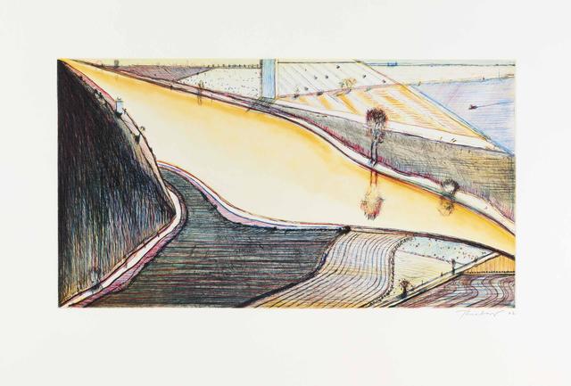 Wayne Thiebaud, 'Hill River', 2002, Lyndsey Ingram
