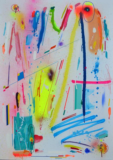 Kenor, 'Electric indigo', 2018, Painting, Acrylic on canvas, N2 Galería