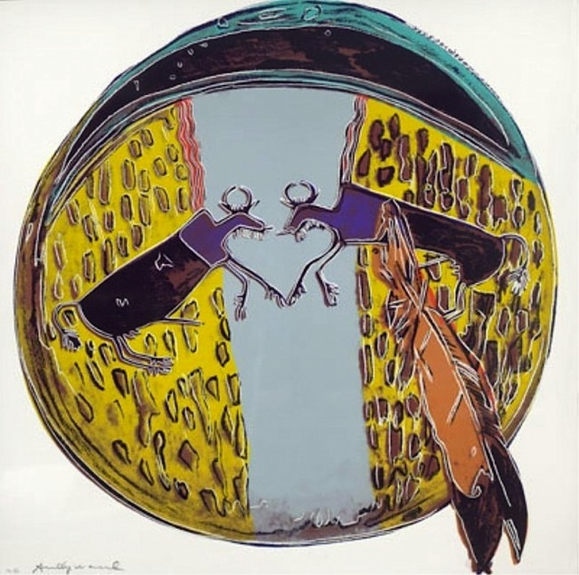 Andy Warhol, 'Plains Indian Shield', 1986, Vertu Fine Art