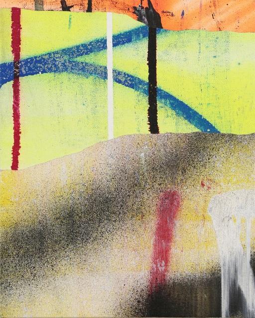 , 'Rips,' 2018, David Pluskwa