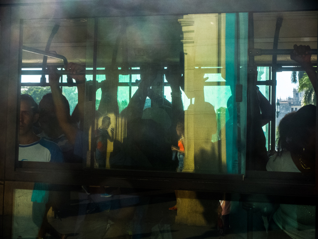 , 'Walking by the bus,' , Soho Photo Gallery