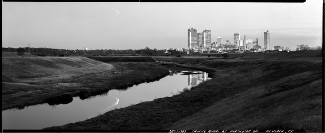 , 'Trinity River at Northside Drive, Fort Worth, Texas, December 1, 1987,' 1987, Fort Worth Contemporary Arts