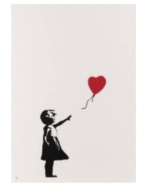 Banksy, 'Girl with Ballon', 2004, SmithDavidson Gallery