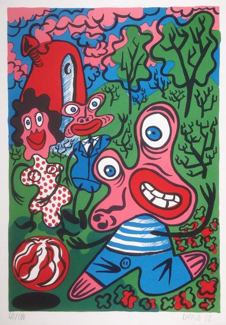 Hervé Di Rosa, 'Sans titre - Untitled', 1988, Hans den Hollander Prints