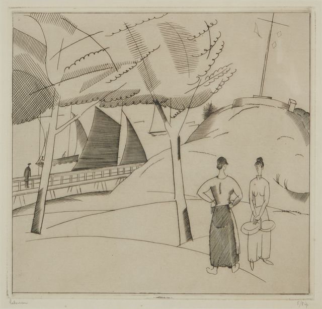 , 'La Sémaphore,' 1923, Childs Gallery