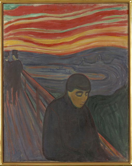 , 'Despair,' 1894, Munch Museum
