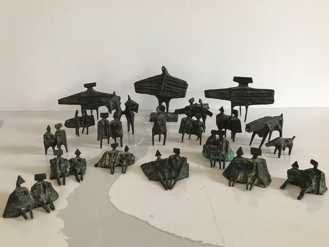 Lynn Chadwick, 'Group of Twenty Miniature Figures', 1976, ARCHEUS/POST-MODERN
