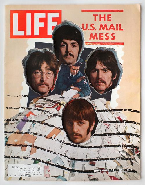 , 'LIFE  Cutout  No.  049  (November  28,  1969,  Beatles  Los  Paranoids),' 2018, Luis De Jesus Los Angeles
