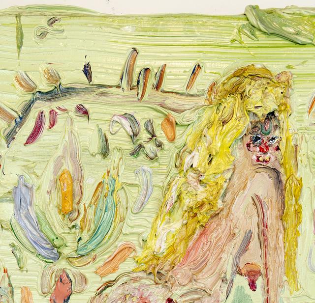 Allison Schulnik, 'Tiny Rug Girl', 2010, Painting, Oil on canvas, ODD ARK•LA