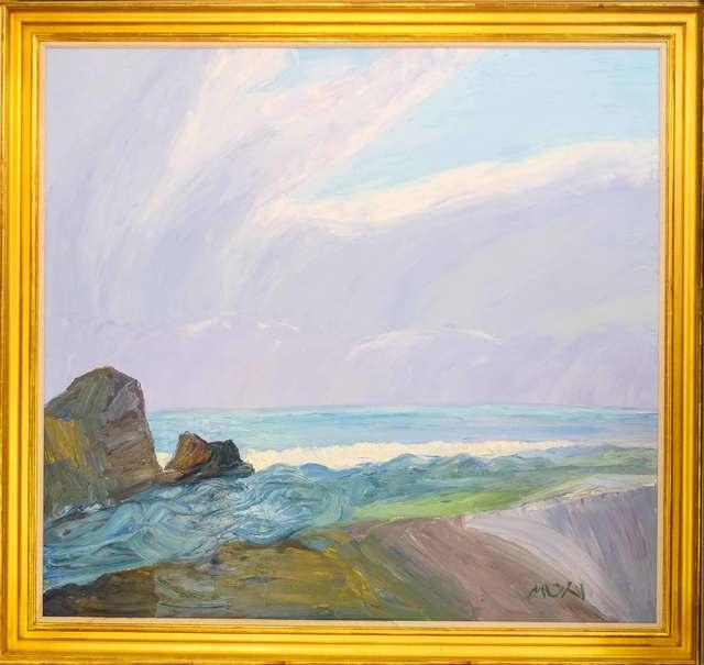 Roger Muhl, 'Bretagne', 2002, Painting, Oil on canvas, Artioli Findlay