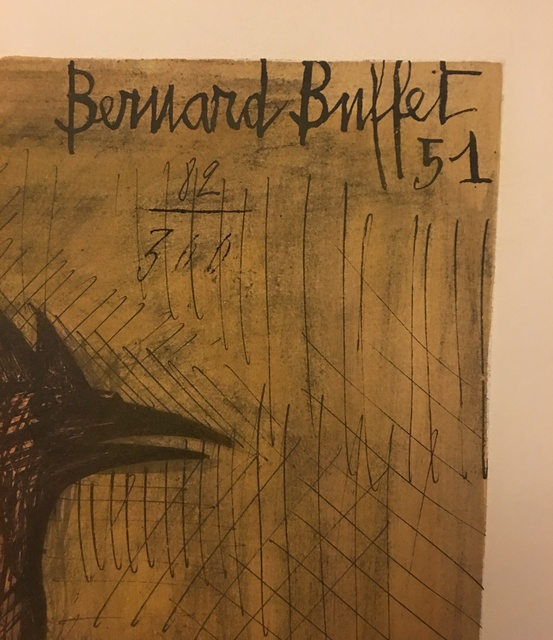 Superb Bernard Buffet Rooster 1951 Available For Sale Artsy Home Interior And Landscaping Palasignezvosmurscom