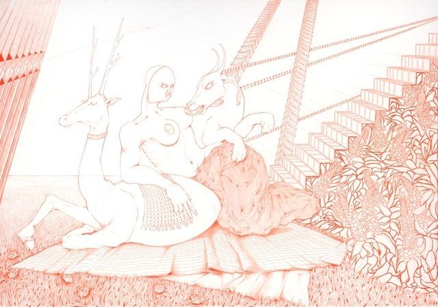 , 'Ariadne, Hortus Conclusus VIII,' 2014, Light Cube Art Gallery