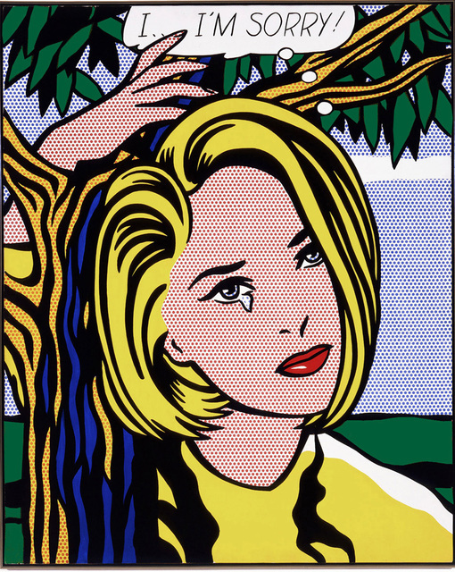 Roy Lichtenstein, 'I...I'm sorry', ca. 1980, Print, Offset lithograph on paper, Samhart Gallery