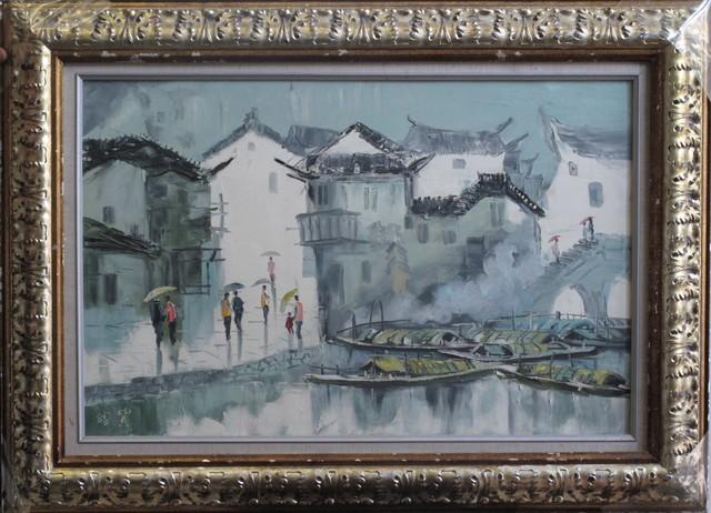 , 'Waterside town,' 2008, A-Art Shengzan Gallery