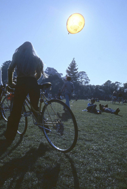 , 'Golden Gate Park Love in San Francisco, February,' 1974, Benrubi Gallery