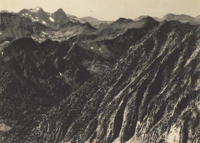 , 'Mount Ritter and Banner Peak from Silver Pass, from Sierra Club Album,' c.1929, Atlas Gallery