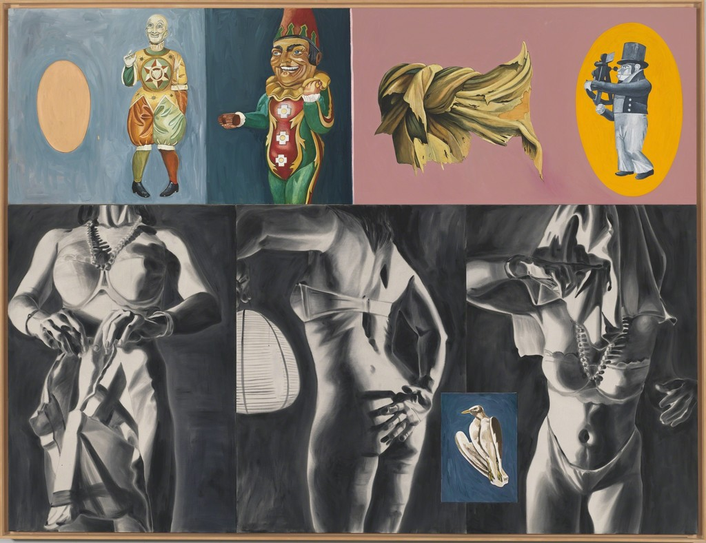 David Salle | Sextant in Dogtown (1987) | Artsy