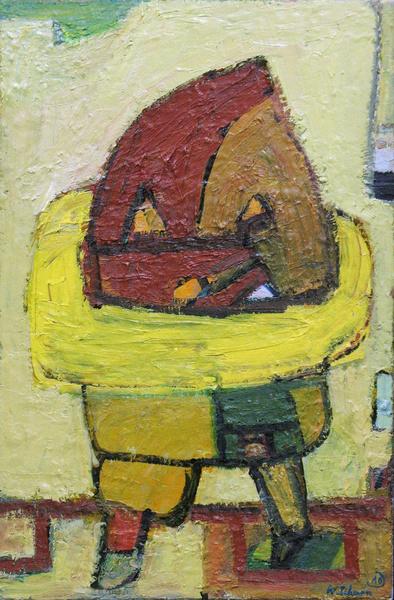 , 'Gelbkragen,' 2010, Galerie Kleindienst