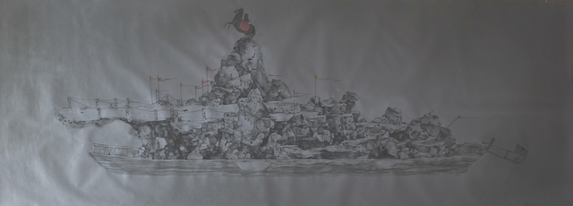 , 'River Crossing Plan 2015 No. 27,' 2015, Huafu Art Space