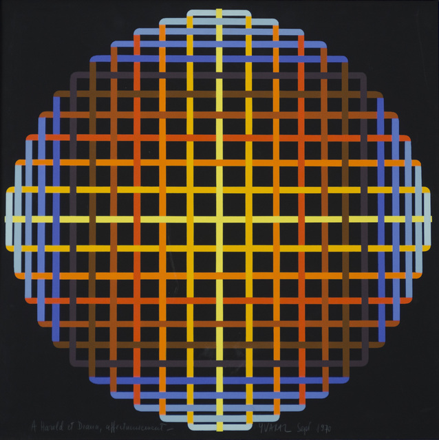 Yvaral, 'Diffraction Polychrome', 1970, Hieronymus