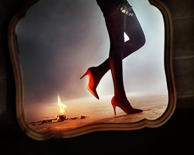 David Drebin, 'Playing With Fire', 2013, Isabella Garrucho Fine Art