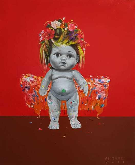 , 'Untitled,' 2018, Albareh Art Gallery