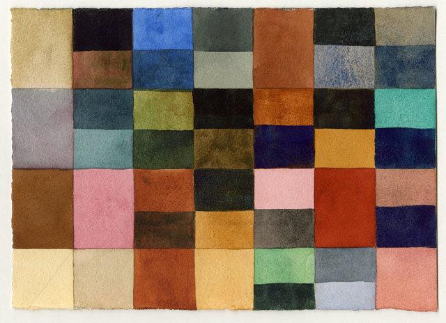 , 'Color Grid Study 4,' ca. 2012, InLiquid
