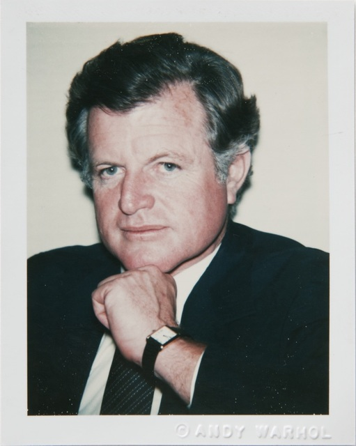, 'Andy Warhol, Polaroid Portrait of Ted Kennedy,' ca. 1979, Hedges Projects