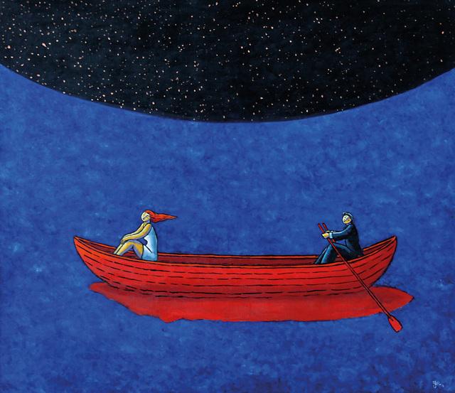 , 'Night Fall,' 2011, Anna Laudel