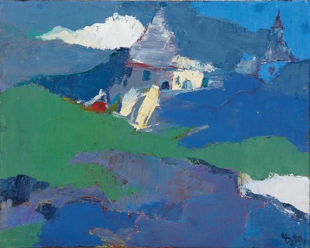 , 'Evening Church,' 1989, Vail International Gallery