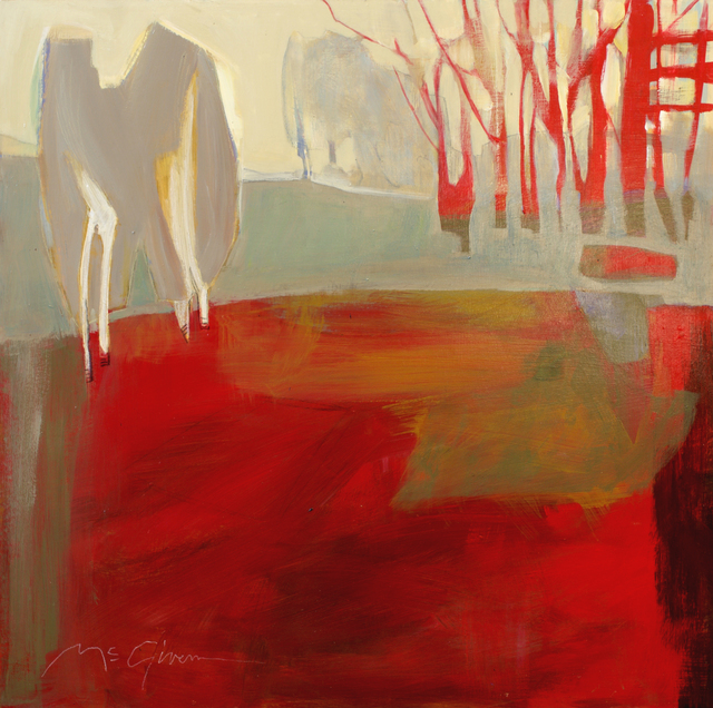 , 'Red,' , Abend Gallery