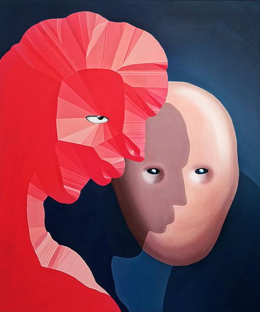Cathrin Hoffmann, 'Der Kuss ', 2018, SETAREH