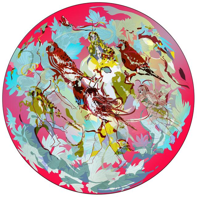 , 'Pangaea Ultima series, #4,' 2015, Gridchinhall