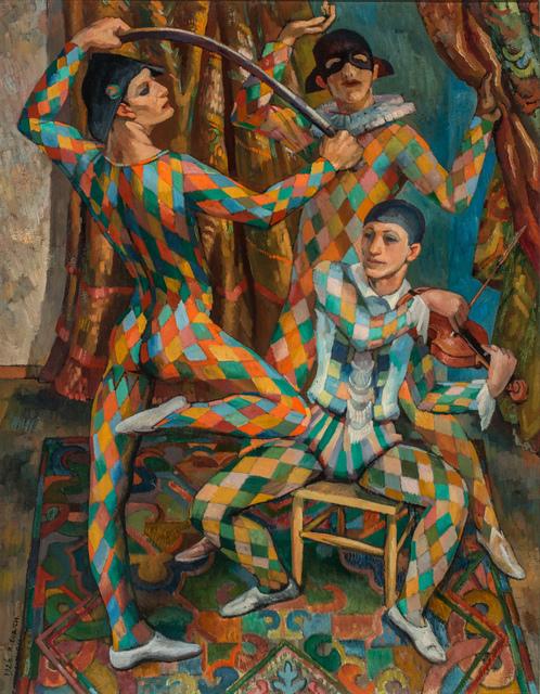 Richard Eurich, 'Harlequins', 1926, Waterhouse & Dodd