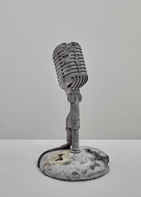 , 'Steel Eroded Microphone,' 2013, Galerie Ron Mandos