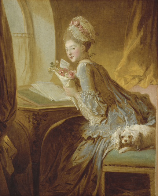 , 'The Love Letter,' ca. 1775, Musée du Luxembourg
