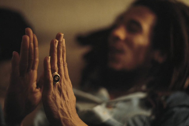 , 'Star of David, Bob Marley at home (Tuff Gong) in Kingston, Jamaica,' 1976, Anastasia Photo