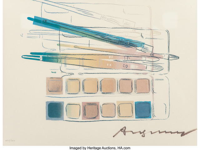 Andy Warhol, 'Watercolor Paint Kit with Brushes', 1982, Heritage Auctions