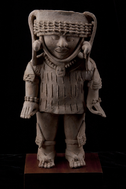 Unknown Pre-Columbian, 'Large Veracruz Standing Male Figure', 600-900, Muzeion Gallery