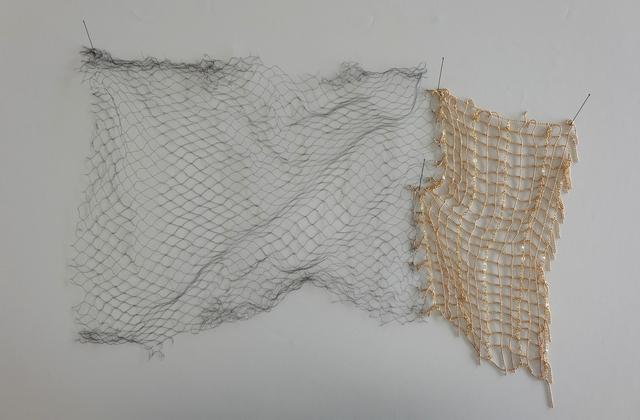 , 'red de niebla y luz (2),' 2015, Galeria Eduardo Fernandes