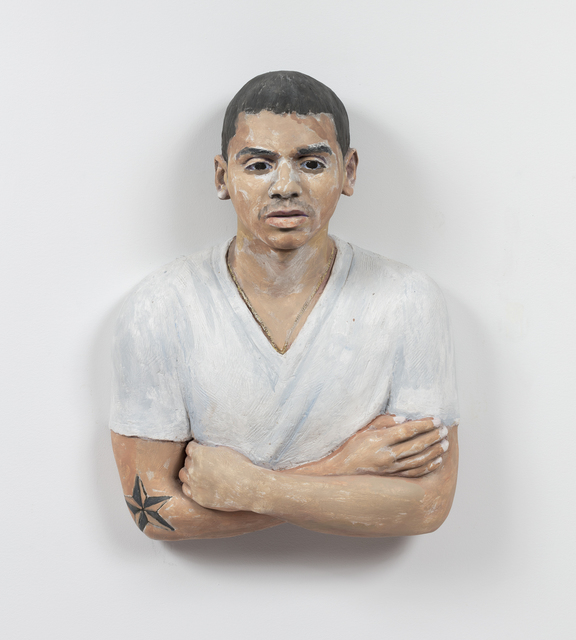 , 'Devon with Folded Arms ,' 2015, Alexander and Bonin