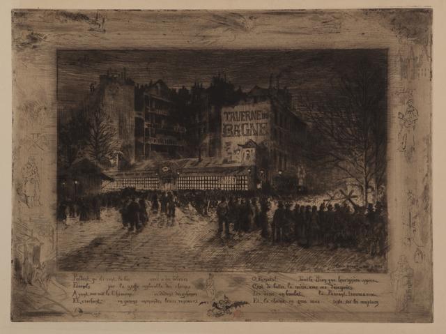 , 'Le Place des Martyres et la Taverne du Bagne,' 1885, Childs Gallery